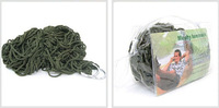 High quality 200 X 80cm camping Nylon net Single hammock tourism hunting Leisure Fabric Load 100KG Wholesale ZF042