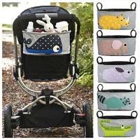 Pram Cart Bottle Diaper Bag Polyester  Baby Strollers Organizer Newborn Nappy Bag  Stroller Accessories Baby Carriage ILGD5001