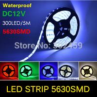 led strips 5050 DV12V 5m flexible light 60led/m,LED strip non-waterproof white/warm white/blue/green/red/yellow christmas lights