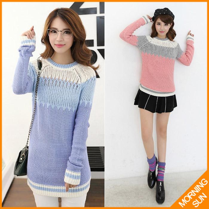 Женский пуловер MORNING SUN tricotado /sueter #310