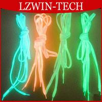 6pcs/lot Luminous Shoelace Glow In The Dark Colorful Fluorescent Sport Shoelace Kids Children Party Gift 100cm 6 Colors