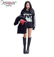 New Sweatshirt 2014 Casual Women Hoody NYC Letter Printed T Shirt  Women Hoodies Casual Sport Suit Women Pullover Plus Size