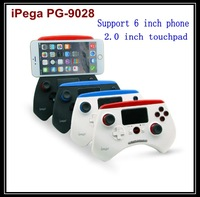 Wholesale 50pcs/lot iPega PG-9028 wireless bluetooth game controller Joystick touchpad For iPhone Samsung Android/IOS Phone PC