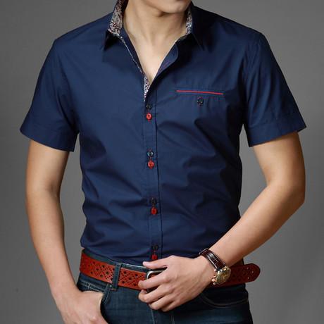 Мужская повседневная рубашка Mens