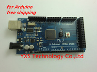 free shipping!!! for Arduino MEGA2560 R3 development board 2560 R3 free USB cable