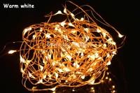 8 Colors 10M 33Ft 100 Leds Silver / Copper Wire LED String Light Starry Lights , Includes Power Adapter (UK,US,EU,AU Plug)