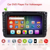 Android 4.2 Car DVD GPS Player for Volkswagen VW Skoda Golf Passat Polo Bora Jetta Tiguan Touran CC Fai  GPS+WiF Free shipping