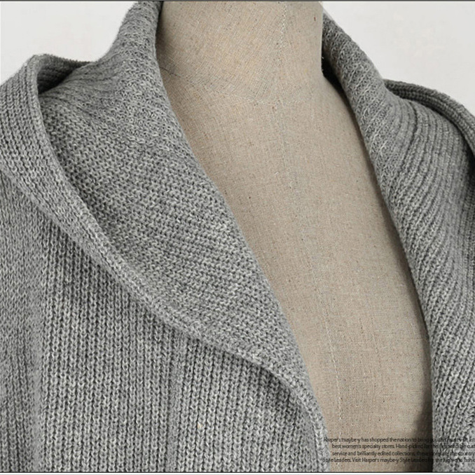 Knitting Pattern Hooded Vest : Euramerican2014 Hitz larger long section of Hooded ...