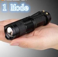 Brand SIPIK CREE Q5 Sk68 120LM Mini Led Flashlight Zoomable 1 Mode Waterproof Pocket Torch Free Shipping (5pcs/lot)