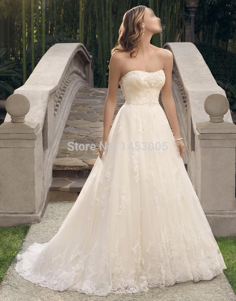 2015 rendas venda quente vestidos de noiva mais novo chá- comprimento tribunal trainfamous designers vestido de casamento backless noivas famosos vestidos(China (Mainland))