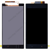 Full lcd For Sony  Xperia Z Ultra XL39h C6833 C6802 LCD touch Screen display With Touch Screen Digitizer Assembly Free Shipping