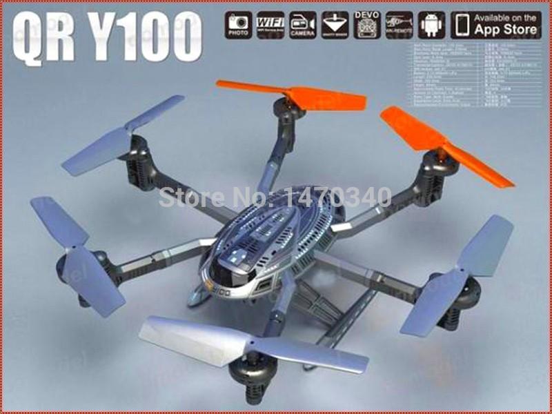 Walkera QR Y100 5.8Ghz 6-Axis FPV Wifi Drone RC Quadcopter Aircraft UFO Para IOS Sistema Android W HD Camera Upgrad(China (Mainland))