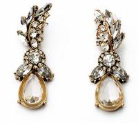 Vintage  Rhinestone Drop Earrings New Fashion Statement Earrings Retro Jewelry Party Accessories for Women BJE94342