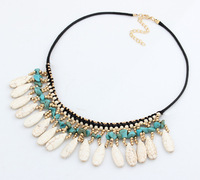 Bohemia Turquoise Choker Necklace New Fashion Jewelry for Women Statement Necklace  BJN99831