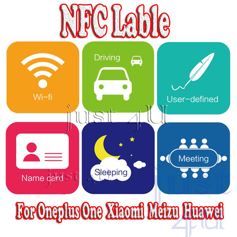 Original NFC label NFC tags for Oneplus one Xiaomi mi4 mi3 meizu mx4 phone