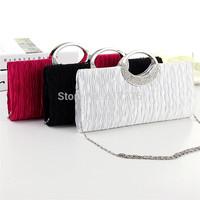 2014 New Women's Handbag Evening Clutch Purses Shoulder Bags Designer Handbags High Quality Bag Black/Red/White/Pink/Gold
