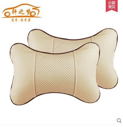high quality car seat headrest Seat Neck / Head car Pillow Soft Back Cushion Winter car seat car seat cover protection pillow(China (Mainland))