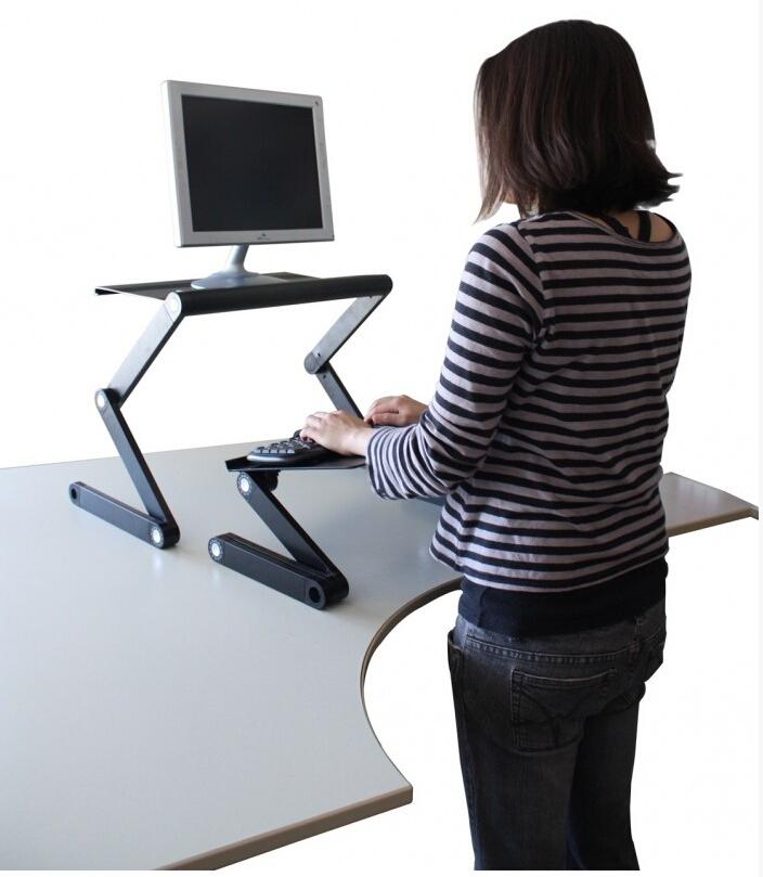 ... plegable ajustar 360 degree plegable lapdesk cama mesa escritorio de