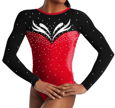 Girl's gymnastic leotard. OEM(China (Mainland))