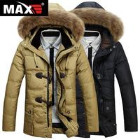 2015 New Men'S Winter Down Jacket Coat Fashion Brand Casual Outdoor Battlefield Thick Warm Down Jacket Collar Nagymaros XXXL