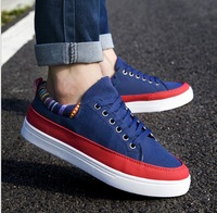 Spring and Autumn breathable casual skate shoes men sneakers student  flats shoes size 39-44 m034