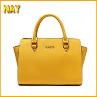 New Arrival Famous Brand Good Quality Cow Leather Modern Design Women Handbag/Shoulder Bag 2015