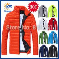 2014 Parka Winter Coat Mens Wadded Jacket Outdoor Hollistic Shiny Light White Duck Down Jacket Men Down-Jackets Free Shipping