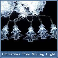 1x 2m 20 LED String Light Pendant Battery Crystal Wedding Christmas Tree Decoration Luminary Twinkle Strip x-mas festival lights