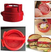 2014 latest Stufz Stuffed Hamburger Press Burger Press cooking tools meat Hamburger Machine Kitchen Meat Poultry Tools No Box