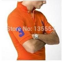 2014 Sale Cotton Sport Mens Polo shirt,Top Quality Man's Clothing Short Sleeve Mens Tops POLO Men Shirt, XXXL plus size POLO