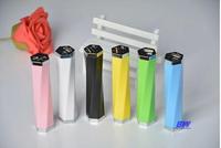 Power bank 2600 mah+LED Light Battery Charger Portable External Power Pack for Smart Phone