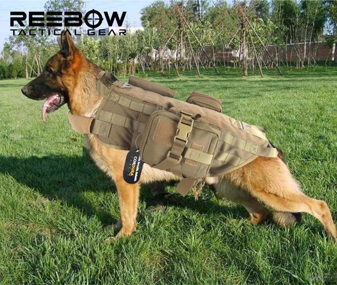 Tactical dog vest - photo#27