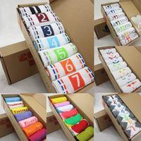7pieces/Box Of Cotton Socks Breathable, Antibacterial, Absorb Sweat Women Socks Smart Male/Female Winter Sports Cotton Sock 1001