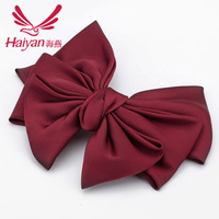 Oversees the butterfly clamps silk spring clip hair accessories Korean headwear wholesale