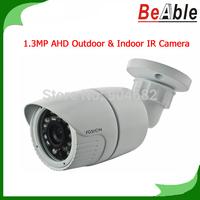 CCTV Camera 720P Bullet camaras de seguridad 1.3MP Metal Housing 23 pcs IR LEDs 3.6 mm lens AHD Camera Outdoor Indoor