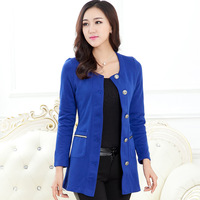 Autumn Single Breasted Design Women Fashion Slim Jackets Large Size M-4XL Brand New Korean Style Lady Casual Coats
