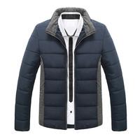 2014 New Men Winter Coat Warm Down Jacket Casual Slim Parka Outdoor Man Clothes Plus Size M-XXXL 6 Colors