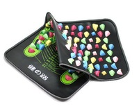 Foot Massage Pad 35x70cm Colorful Plastic medial branch foot massager cushion cobblestone mat super effect q227
