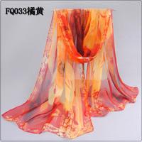 Buy 3 get 1 for free! 2014 spring and autumn silk georgette chiffon scarf long silk scarf women's chiffon silk scarf