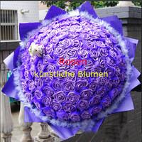 50pcs/lot Fashion Artificial Foam Rose Flower Heads High Quality PE Wedding Party Decorations 7 Colors 6cm CX673326