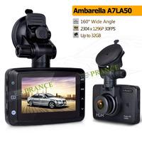 Ambarella A7 LA50 Car DVR 3.0 inch HD TFT LCD Screen Dash Cam Car Recorder with 160 Degree Wide Angle 400Mega G-Sensor LDWS C3-5