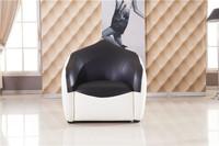Leather Chair, Creative and original design,  Similar bean bag sofa, Genuine leather round single sofa Chiar Free Shipping YY02