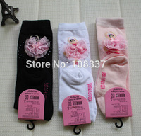 30pairs/lot kids ballet socks cute girls knee socks students dance socks free shipping