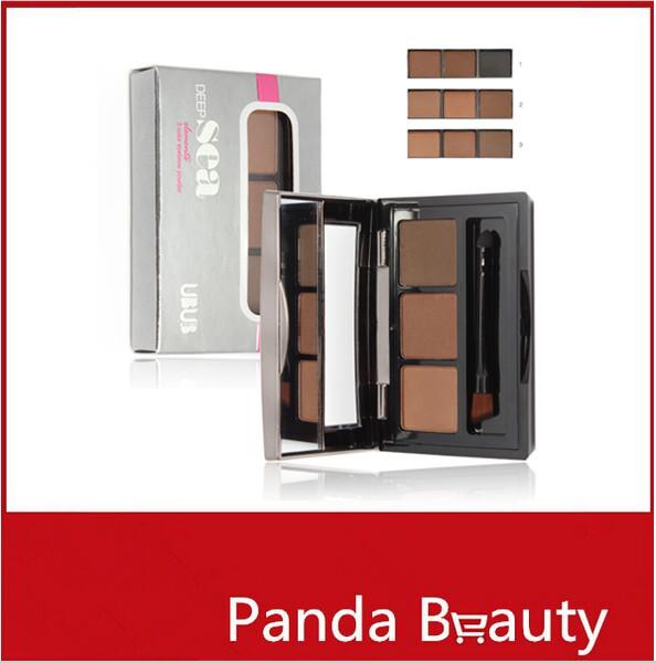 wholesale Eyebrow Powder Eye Brow Cake Powder Eye Brow by UBUB Professional Makeup Eye Make up Free Shipping(China (Mainland))