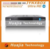 The newest Jynxbox Ultra HD V7 TV Receiver FREE JB200 8PSK Module& wifi antenna free shipping