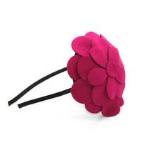 14 colors  Big Flower Hairband Hair accessories Crown Hair jewelry Headband Styling Tools Head Chain Head Jewelry CF100