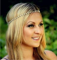 Pearl Hairband Hair accessories Crown Hair jewelry Headband Styling Tools Head Chain Head Jewelry CF095