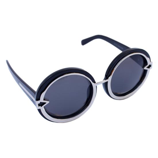 Womens Fashion Large Round circle Sunglasses Cheap Vintage Over size Eyewear Free shipping UV400 S856(China (Mainland))