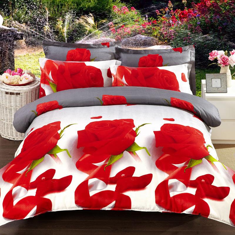 Flor presente novo cheetah tiger 3d conjuntos de cama roupa de cama king size leão consolador conjunto rainha capa de edredão set 4 pc roupa de cama set 3d(China (Mainland))