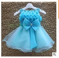 New Arrival Kids Girl dress Cute girl princess Wedding party Dress children dress for girl 3-8 Years Evening Dresses